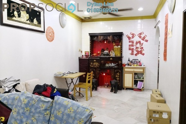 For Sale Terrace at Taman Sentosa, Klang Freehold Semi Furnished 3R/2B 299k