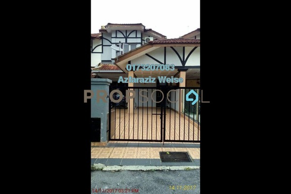 For Sale Terrace at Sungai Buloh Country Resort, Sungai Buloh Freehold Semi Furnished 3R/2B 400k