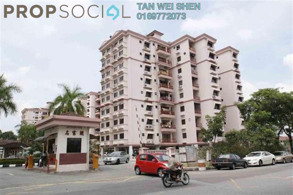 For Rent Condominium at Sri Manja Court, PJ South Freehold Fully Furnished 3R/2B 1.6k