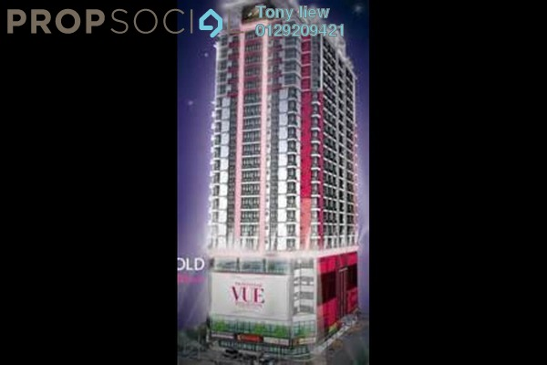 For Rent Serviced Residence at Vue Residences, Titiwangsa Freehold Semi Furnished 2R/1B 2k