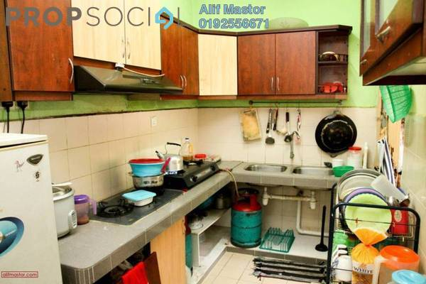 For Sale Apartment at Sri Melor Apartment, Ukay Freehold Semi Furnished 3R/2B 250k