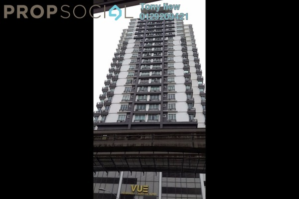 For Rent Serviced Residence at Vue Residences, Titiwangsa Freehold Semi Furnished 3R/2B 2.5k