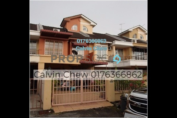 For Sale Terrace at Taman Sutera, Seberang Jaya Freehold Unfurnished 4R/3B 360k