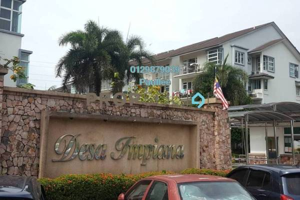 For Sale Condominium at Desa Impiana, Puchong Freehold Semi Furnished 3R/2B 398k
