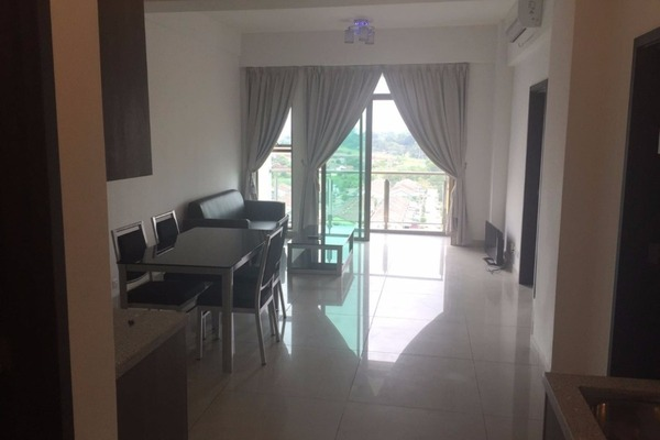 For Rent Serviced Residence at D'Inspire Residence, Skudai Freehold Fully Furnished 2R/2B 1.8k
