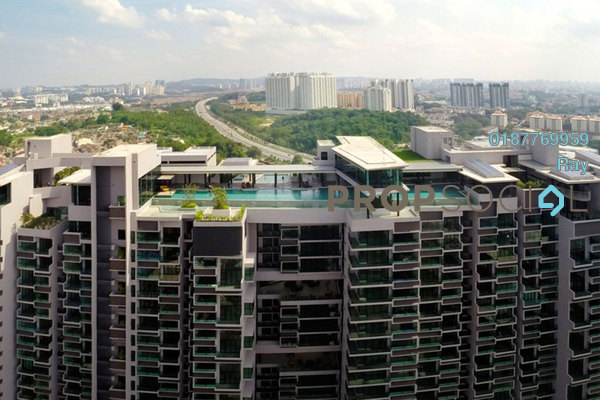 For Rent Condominium at The Leafz, Sungai Besi Freehold Fully Furnished 1R/1B 2k
