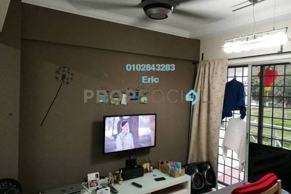 For Sale Condominium at Vista Saujana, Kepong Freehold Semi Furnished 3R/2B 310k