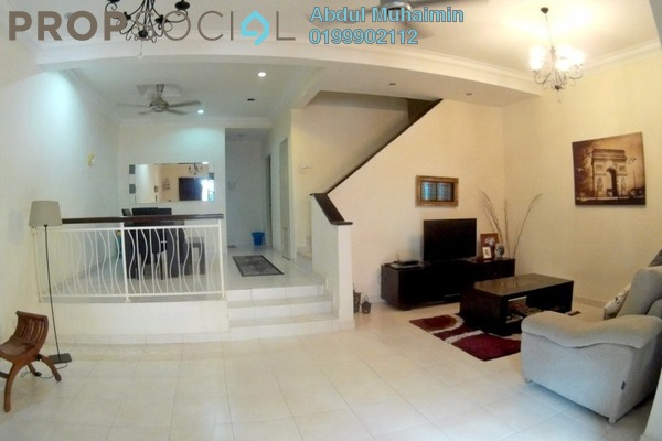 For Sale Terrace at Alam Budiman, Shah Alam Freehold Semi Furnished 4R/4B 615k