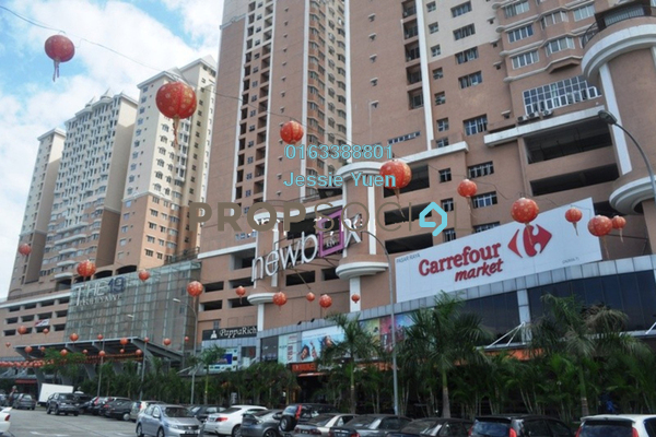 For Sale SoHo/Studio at The 19 USJ City Mall, UEP Subang Jaya Freehold Fully Furnished 1R/1B 255k