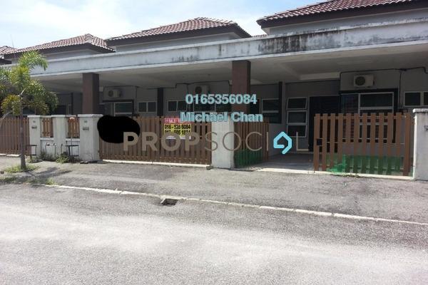 For Sale Terrace at Kampar Putra, Kampar Freehold Fully Furnished 4R/4B 178k