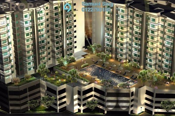 For Rent Condominium at Diamond Residence @ Serdang, Seri Kembangan Freehold Fully Furnished 3R/2B 1.5k
