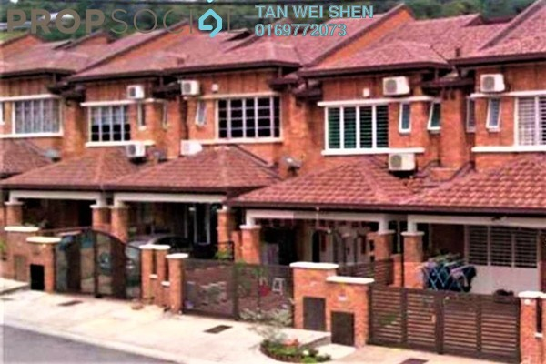 For Rent Terrace at Bukit Sungai Long 1, Bandar Sungai Long Freehold Unfurnished 4R/3B 1.3k