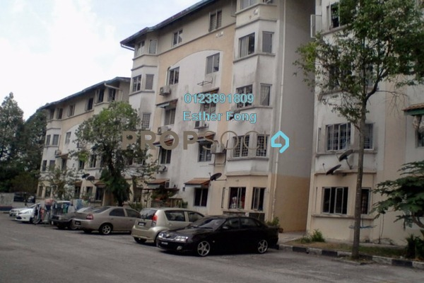 For Rent Apartment at Permai Apartment, Damansara Damai Freehold Semi Furnished 3R/2B 700translationmissing:en.pricing.unit