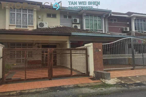 For Rent Terrace at Section 8, Bandar Mahkota Cheras Freehold Unfurnished 4R/3B 1k