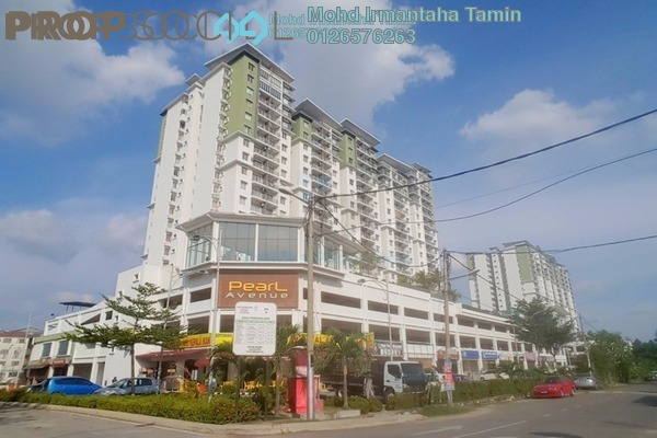 For Sale Condominium at Pearl Avenue, Kajang Freehold Fully Furnished 3R/2B 620k