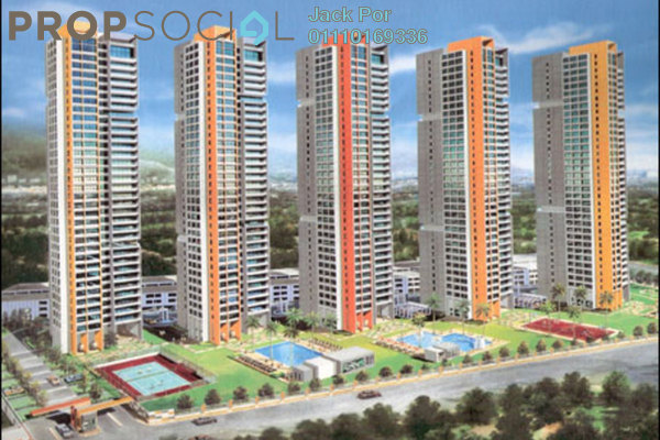 For Sale Condominium at Central Park, Green Lane Freehold Fully Furnished 4R/3B 1.45m