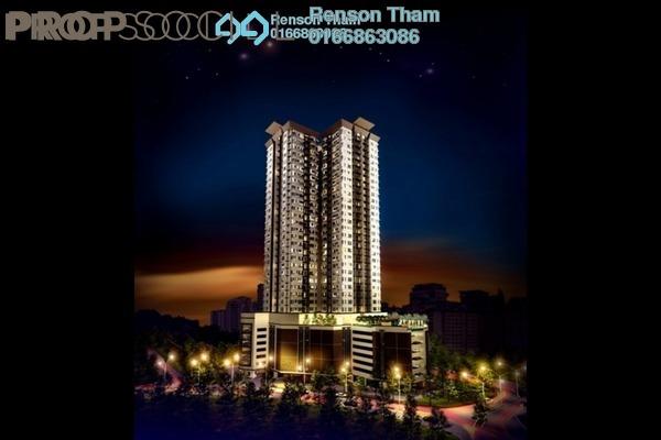 For Sale Condominium at Pinnacle, Sri Petaling Freehold Semi Furnished 2R/2B 480k