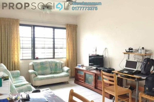 For Rent Apartment at SD Apartments, Bandar Sri Damansara Freehold Fully Furnished 3R/2B 1.1k