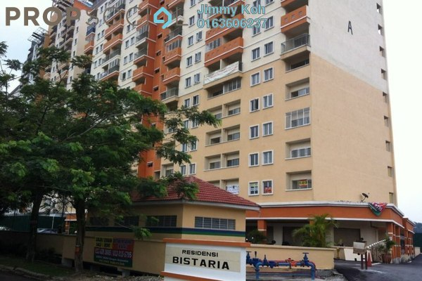 For Rent Apartment at Residensi Bistaria, Ukay Freehold Fully Furnished 3R/2B 1.2k