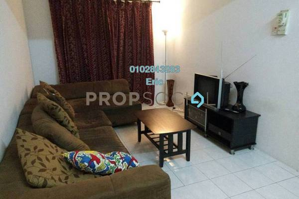 For Rent Condominium at Sri Ria Apartment, Kajang Freehold Fully Furnished 3R/2B 1.15k