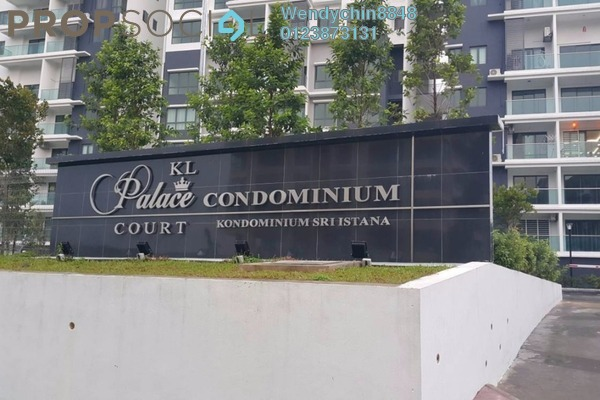 For Sale Condominium at KL Palace Court, Kuchai Lama Freehold Semi Furnished 2R/2B 470k