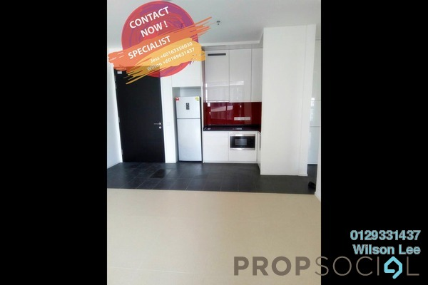 For Rent SoHo/Studio at Arcoris, Mont Kiara Freehold Semi Furnished 1R/1B 2.8k