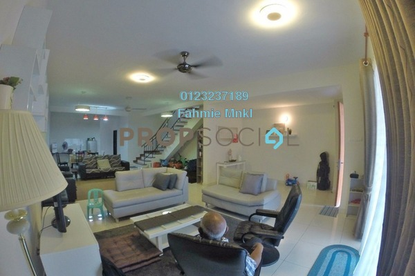 For Sale Terrace at Saffron Hills, Denai Alam Freehold Semi Furnished 4R/3B 860k