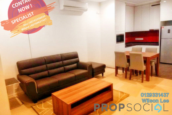 For Rent SoHo/Studio at Arcoris, Mont Kiara Freehold Fully Furnished 1R/1B 3k