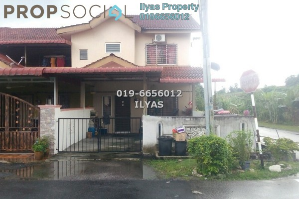For Sale Terrace at Taman Serendah Makmur, Serendah Freehold Unfurnished 4R/3B 230k
