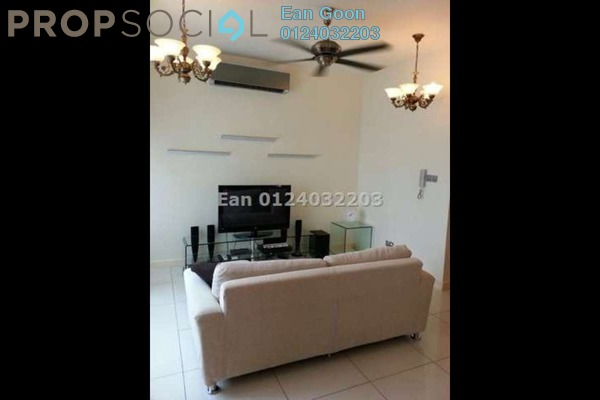 For Rent Condominium at Tiffani Kiara, Mont Kiara Freehold Fully Furnished 1R/1B 3.8k