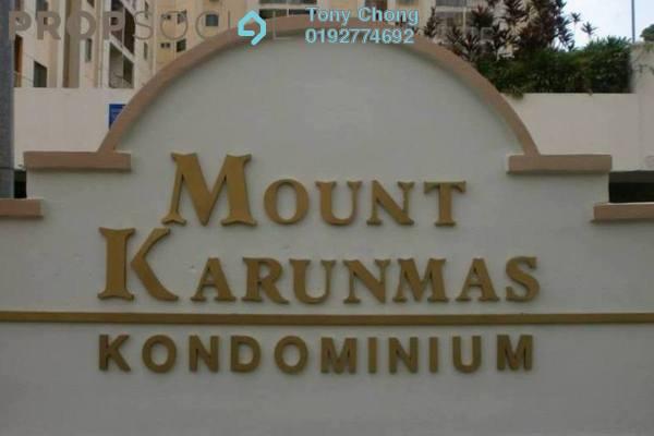 For Sale Condominium at Mount Karunmas, Balakong Freehold Semi Furnished 3R/2B 300k