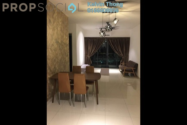 For Rent Condominium at Riverville Residences, Old Klang Road Freehold Fully Furnished 3R/2B 2.5k