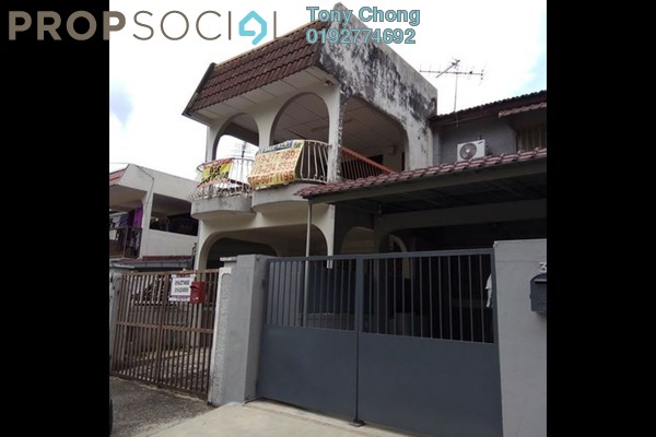For Sale Terrace at Taman Muda, Pandan Indah Freehold Semi Furnished 2R/2B 390k