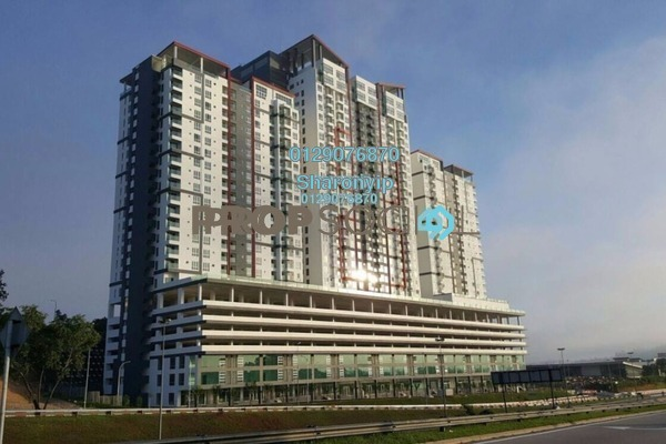 For Rent Apartment at Silk Residence, Bandar Tun Hussein Onn Freehold Unfurnished 3R/2B 1.2k