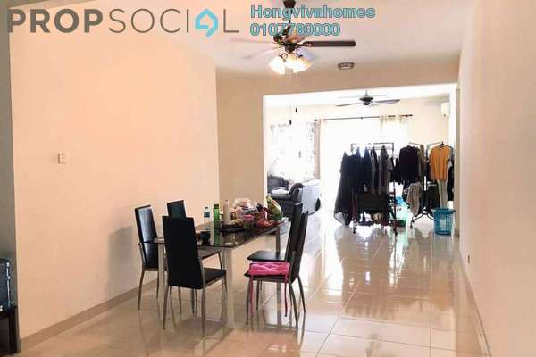 For Sale Condominium at Platinum Hill PV8, Setapak Freehold Semi Furnished 3R/2B 590k