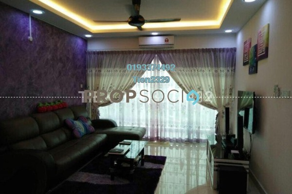 For Rent Condominium at Bayu Sentul, Sentul Freehold Fully Furnished 3R/2B 2.6k