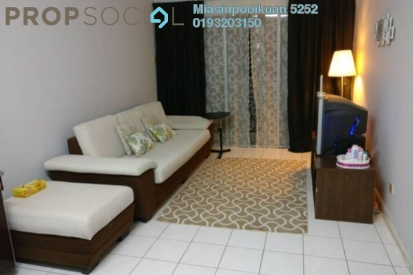For Rent Condominium at Puteri Court, Ampang Freehold Semi Furnished 3R/2B 1.1k