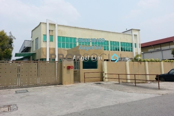 For Rent Factory at BRP 6, Bukit Rahman Putra Freehold Semi Furnished 0R/0B 12k