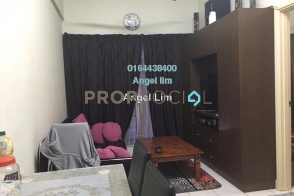 For Sale Apartment at Suria Apartment, Damansara Damai Freehold Semi Furnished 2R/1B 128k
