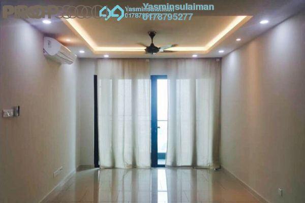 For Rent Condominium at The Reach @ Titiwangsa, Setapak Freehold Semi Furnished 4R/3B 2.8k