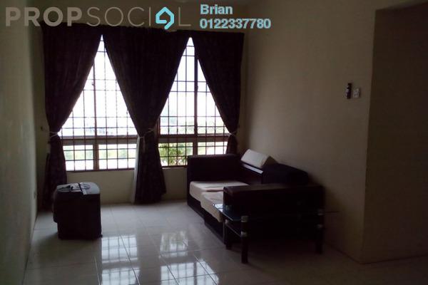 For Sale Apartment at Vista Impiana Apartment, Seri Kembangan Freehold Semi Furnished 3R/2B 260k