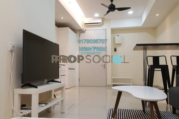 For Sale SoHo/Studio at Suria Jelutong, Bukit Jelutong Freehold Semi Furnished 1R/1B 330k