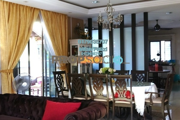 For Sale Bungalow at Taman Aman Perdana, Meru Freehold Semi Furnished 5R/5B 1.38m