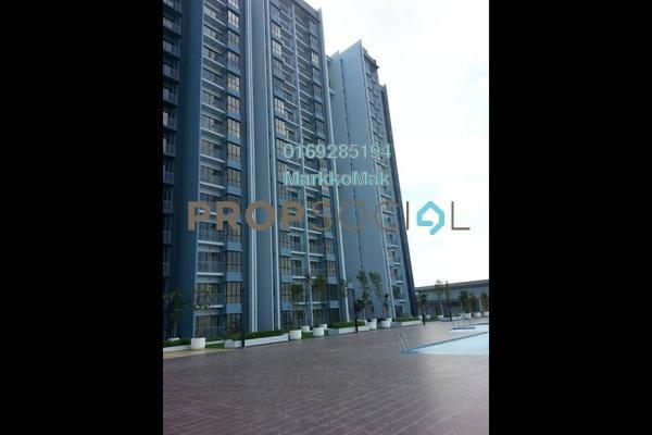 For Rent Apartment at Green Park, Seri Kembangan Freehold Semi Furnished 3R/2B 1.3k
