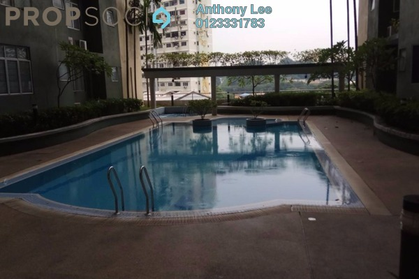 For Sale Condominium at Sri Impian, Brickfields Freehold Fully Furnished 4R/2B 848k