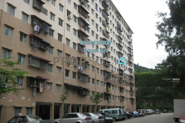For Sale Apartment at Desa Aman Puri, Kepong Freehold Semi Furnished 3R/2B 130k