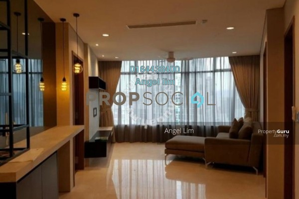 For Rent Serviced Residence at Vortex Suites & Residences, KLCC Freehold Fully Furnished 3R/1B 7.5k