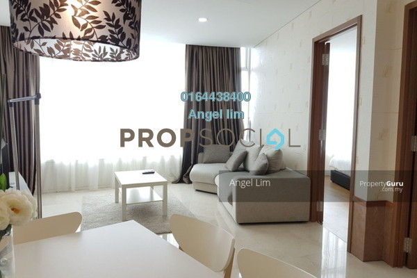 For Sale Serviced Residence at Vortex Suites & Residences, KLCC Freehold Fully Furnished 2R/2B 1.5m