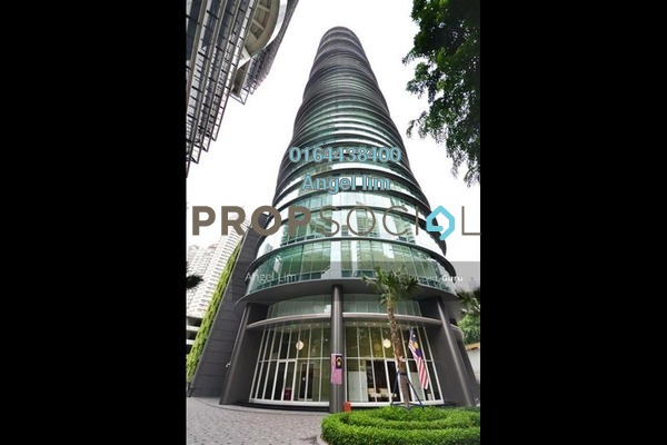 For Rent Serviced Residence at Vortex Suites & Residences, KLCC Freehold Semi Furnished 3R/2B 7.2k