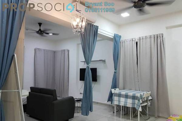 For Rent Condominium at Cube @ One South, Seri Kembangan Freehold Fully Furnished 0R/1B 1.7k